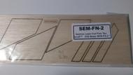 Semroc Laser-Cut Fins Tau Zero™   3/32 Balas SEM-FN-2 *
