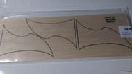 Semroc Laser-Cut Fins Star Scythe™  (Set of 2)  3/32 Balsa  SEM-FN-SS *