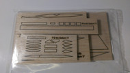 Semroc Laser-Cut Fins Saturn V™  (Set of 4)   SEM-FS-6 *