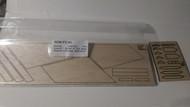 Semroc Laser-Cut Fins Orion™  (Sheet A 3/32 Balsa Sheet B 1`/8 Balsa)   SEM-FV-41 *
