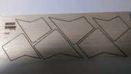 Semroc Laser-Cut Fins Defender™   3/32 Balsa SEM-FV-60 *