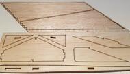 Semroc Laser-Cut Fins Hawk™ (1/16 Balsa, 3/32 Balsa, Basswood Keel) SEM-FV-65*