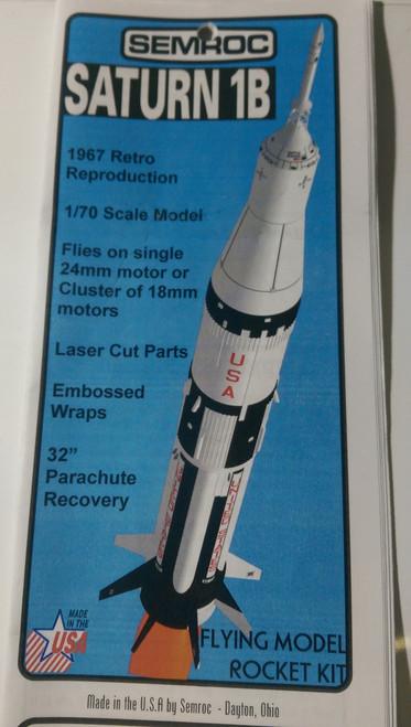 Estes Flying Model Rocket Kit Saturn 1B 7251