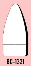 "Semroc Balsa Nose Cone #13 2.1"" Bezier   SEM-BC-1321 *"