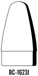 "Semroc Balsa Nose Cone #16 2.3"" Blunt Ogive   SEM-BC-1623J"
