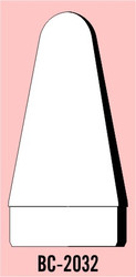 """Semroc Balsa Nose Cone #20 3.4"""" Rounded Cone   SEM-BC-2032 *"""