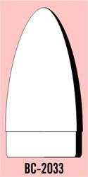 "Semroc Balsa Nose Cone #20 3.3"" Elliptical   SEM-BC-2033 *"