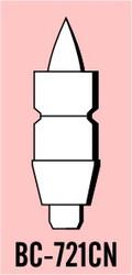 """Semroc Balsa Nose Cone #7 2.1"""" Cone-Nozzle Set   SEM-BC-721CN *"""