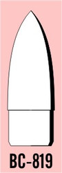 "Semroc Balsa Nose Cone #8 1.9"" Ogive   SEM-BC-819"