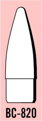 "Semroc Balsa Nose Cone #8 2.0"" Bezier   SEM-BC-820 *"