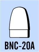 "Semroc Balsa Nose Cone BT-20 0.8"" Rounded Ogive   SEM-BNC-20A *"