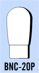 "Semroc Balsa Nose Cone BT-20 1.3"" Round   SEM-BNC-20P"