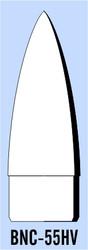 """Semroc Balsa Nose Cone BT-55 3.8"""" Haack   SEM-BNC-55HV"""