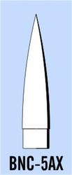 """Semroc Balsa Nose Cone BT-5 2.25"""" Ogive   SEM-BNC-5AX *"""