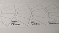 Semroc Paper Fins - Nike-Tomahawk™   SEM-IKD-7P *