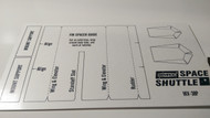 Semroc Pattern Sheet - Space Shuttle™   SEM-IKV-38P *