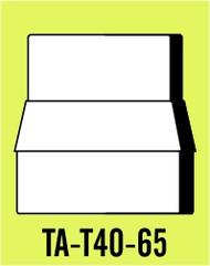 Semroc Balsa Tube Adapter T40 to BT-65 ***  SEM-TA-T40-65 *
