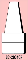 "Semroc Balsa Nose Cone #20 3.4"" Crayon   SEM-BC-2034CR *"
