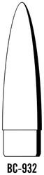 "Semroc Balsa Nose Cone #9 3.25"" Elliptical   SEM-BC-932 *"