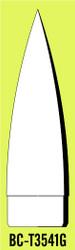 "Semroc Balsa Nose Cone T35 4.1"" Ogive   SEM-BC-T3541G"