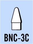 "Semroc Balsa Nose Cone BT-3 0.6"" Conical   SEM-BNC-3C"