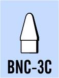 "Semroc Balsa Nose Cone BT-3 0.6"" Conical   SEM-BNC-3C *"