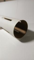 """Semroc Body Tube BT-60 5.0"""" Long 4 Slots Omega™ 0.8"""" from Bottom)   SEM-BT-60RS4 *"""