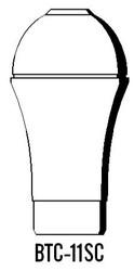 Semroc Balsa Tail Cone #11 18mm   SEM-BTC-11SC *