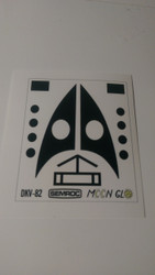 Semroc Decal - Moon Glo™   SEM-DKV-82 *