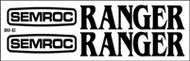 Semroc Decal - Ranger™   SEM-DKV-83 *