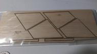 Semroc Laser-Cut Fins X-Ray™ 1/16 Balsa  SEM-FV-90 *