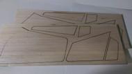 Semroc Laser-Cut Fins Semroc USS America™ 1/16 Balsa (2 Sheets)   SEM-FV-77 *