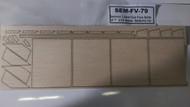 Semroc Laser-Cut Fins SAM-3™  3/32 Balsa  SEM-FV-79 *
