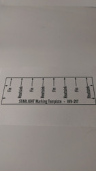 Semroc Template for Marking - Starlight™   SEM-IKV-21T * Discontinued