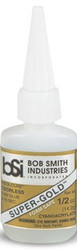 BSI 121 Cyanoacrylate(CA) Super Glue 1/2oz Super Thin Gold -Gold Label