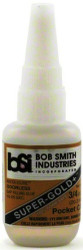 BSI 139 Cyanoacrylate(CA) 3/4oz Gap Filling Pocket - Gold Label