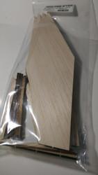 Semroc Laser-Cut Fins Super Big Bertha™(4 fins)  SEM-FES-2165 *