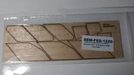 Semroc Laser-Cut Fins Mars Snooper II™  3/32 Balsa Sheet  SEM-FES-1220 *