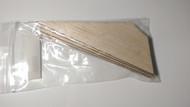 """Semroc Laser-Cut Fin - FSI Eos™ 1/8"""" Balsa(4 fins)  SEM-FFS-MRK16 *"""