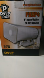 "Materials Pyl6"" Outdoor Speaker Horn 50 Watts(each) MAT-PYL-93579289M"