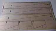Semroc Laser-Cut Fins Heli Roctor™ 3/32 Balsa  (3 Fins, 3 Blades) SEM-FC-02 *
