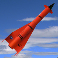 "Mad Cow Flying Model Rocket Kit 1.6"" Mini Jay Hawk AQM-37A(29mm)  K-3196"