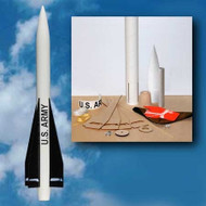 Mad Cow Flying Model Rocket Kit US Army Hawk MIM-23B 2.6''