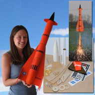 "Mad Cow Flying Model Rocket Kit 2.6"" Jay Hawk AQM-37A(29mm)  K-3109"