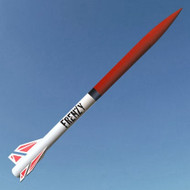 Mad Cow Flying Model Rocket Kit Frenzy 4''