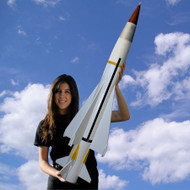 Mad Cow Flying Model Rocket Kit Seawolf 4''