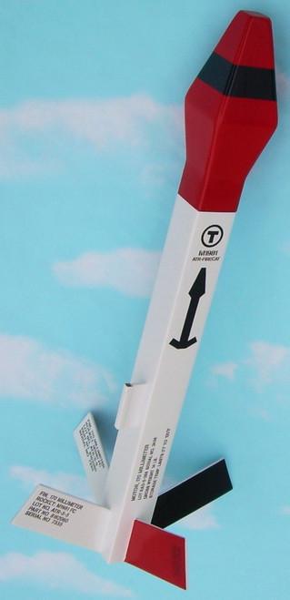 NewWay Flying Model Rocket Kit Firecat 4