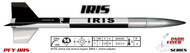 "LOC Precision Flying Model Rocket Kit 1.63"" IRIS  PFY-IRIS"