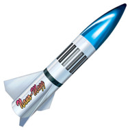 "LOC Precision Flying Model Rocket Kit 2.5"" Nano Magg  PK-17"