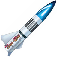 "LOC Precision Flying Model Rocket Kit 7.5"" Mega Magg"